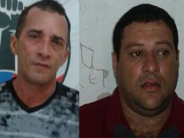 ex-policial militar Luis Mario Figueiredo dos Santos e Jean Tomé da Silva já possuíam um mandado (Foto: Divulgação / Polícia Civil)