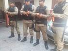 Armas não letais serão usadas em rondas de praças em Macapá