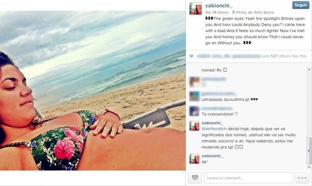 Carolina Bianchi (Foto: Instagram/Reprodução)