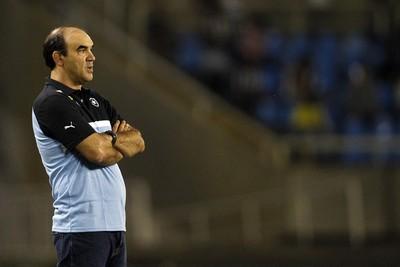 Ricardo Gomes Botafogo x Paraná (Foto: Vitor Silva/ SSPress)