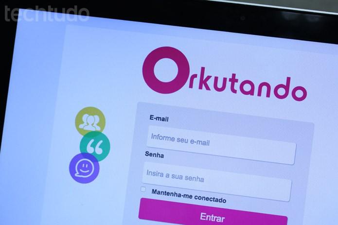 Orkutando (Foto: Melissa Cruz / TechTudo)