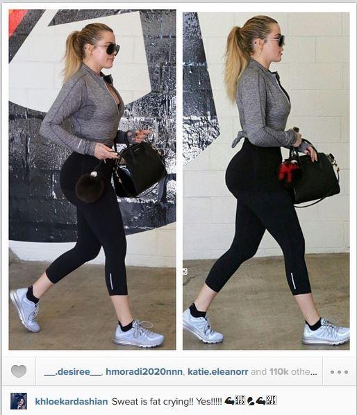 Khloe Kardashian  (Foto: Instagram / Reprodução)
