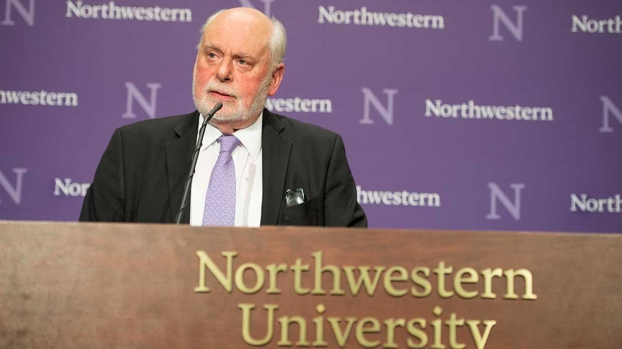 Fraser Stoddart (Foto: Reprodução Youtube / Universidade de Northwestern)