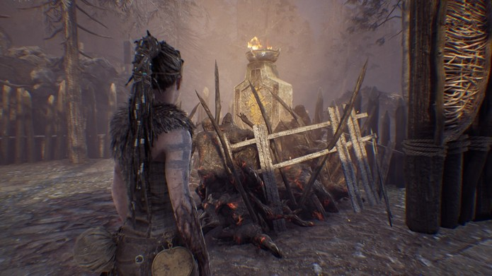 Hellblade: Senua's Sacrifice (Photo: Reproduction / Felipe Vinha)