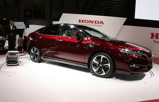 Honda FCX Clarity no Salão de Tóquio 2015 (Foto: Newspress)