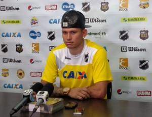 Rafael Oliveira - atacante do ABC (Foto: Alexandre Filho/GloboEsporte.com)