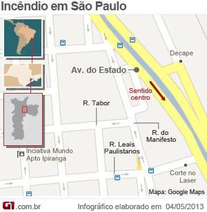 Mapa (Foto: Arte/G1)