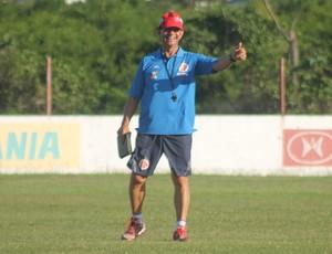América-RN - Guilherme Macuglia treino Natal (Foto: Canindé Pereira/Divulgação)