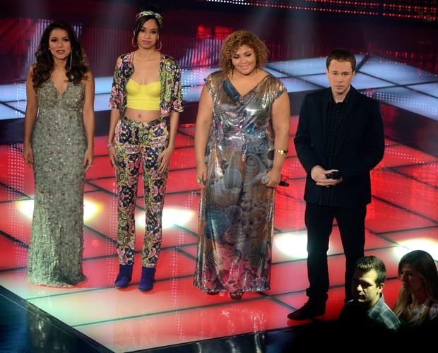 Liah, Priscylla e Alma (Foto: The Voice Brasil/TV Globo)