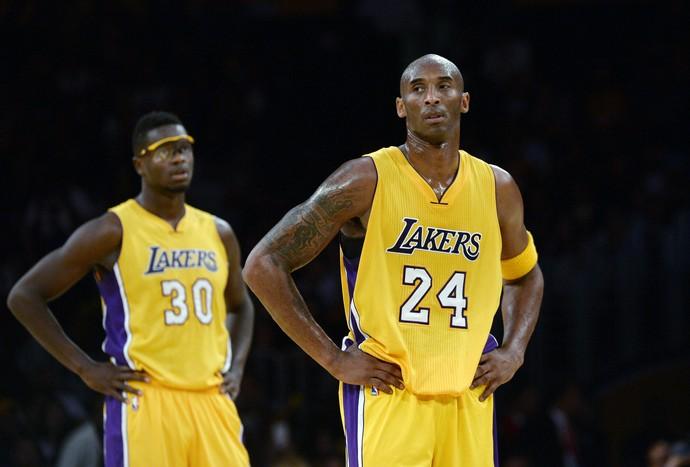 Kobe Bryant Lakers x Nuggets NBA (Foto: Getty)