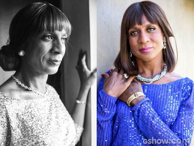 Em Geração Brasil, Luís Miranda interpretará Dorothy Benson (Foto: Aline Kras/TV Globo)