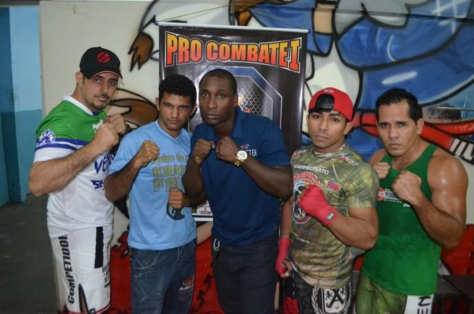 Pró Combate Manaus Amazonas MMA (Foto: Emanuel Mendes Siqueira)