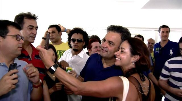 Campanha presidencial de Aécio Neves chega ao fim