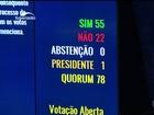 Senado aprova o afastamento de Dilma Rousseff por 55 a 22