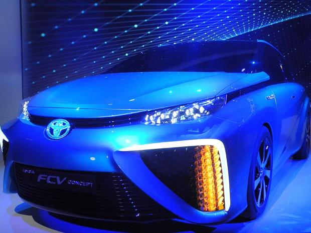 Toyota apresentou o FCV na CES, nos Estados Unidos (Foto: Rob Lever/AFP)