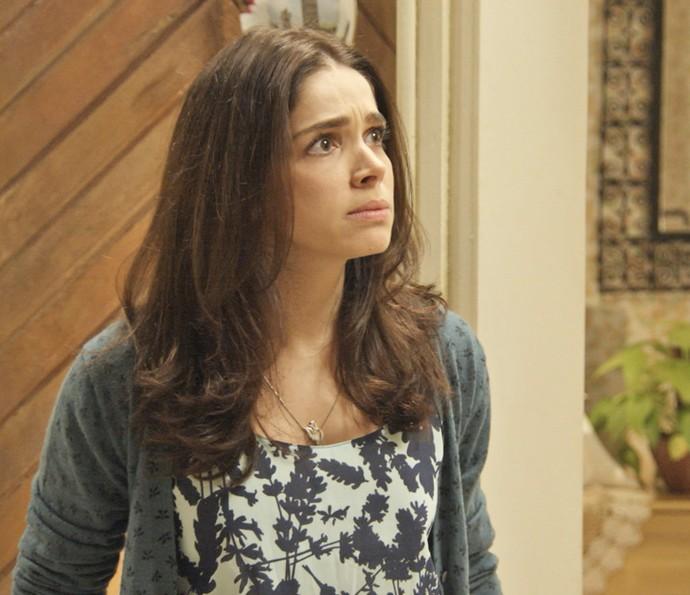 Shirlei fica furiosa com descoberta sobre Adônis (Foto: TV Globo)