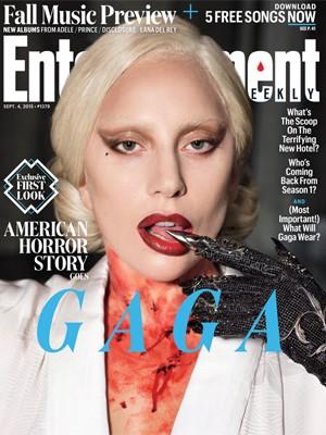 Lady Gaga divulga 'American horror story' (Foto: Divulgação)