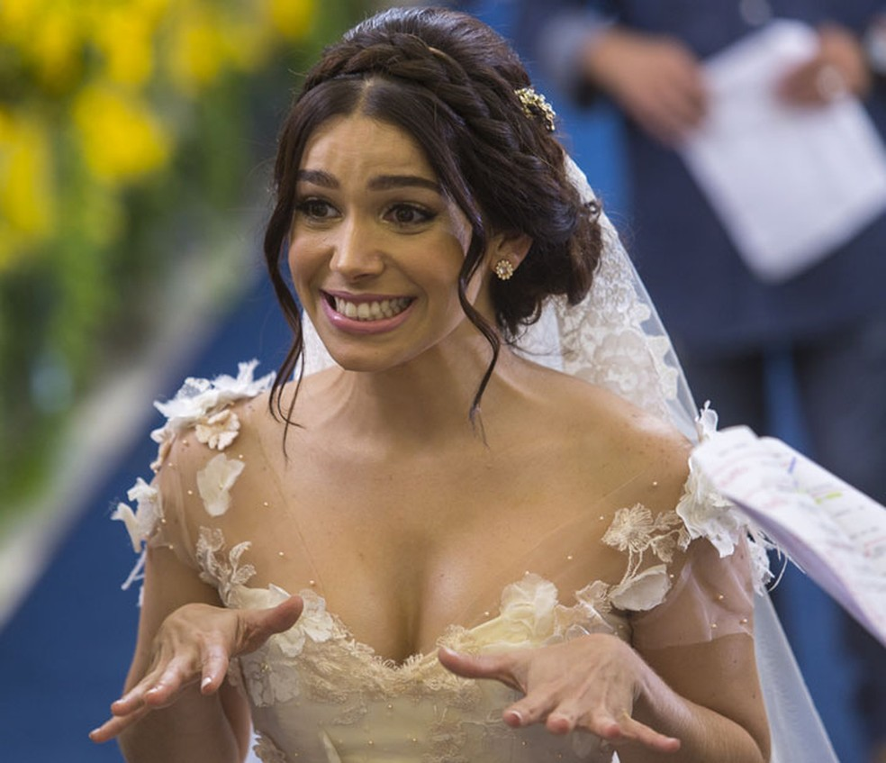 'Não poderia ser mais perfeito!', diz Sabrina Petraglia sobre o casamento de Shirlipe (Foto: Artur Meninea/Gshow)