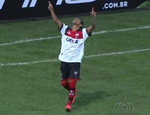Rafinha gol Flamengo (Foto: Reprodução)