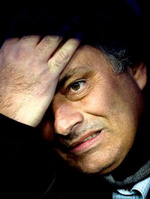 José Mourinho na partida do Real Madrid (Foto: AP)