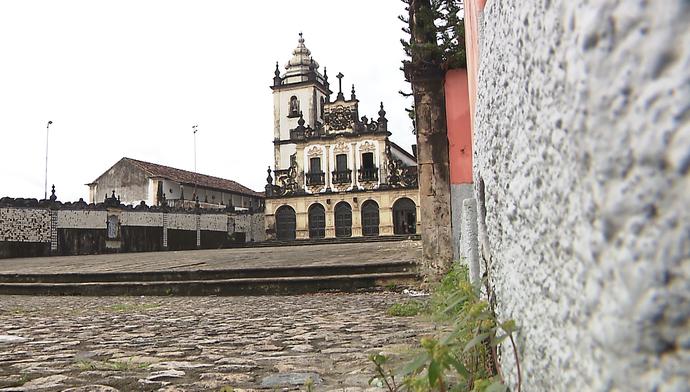 Igreja de São Francisco, em João Pessoa (Foto: Reprodução)