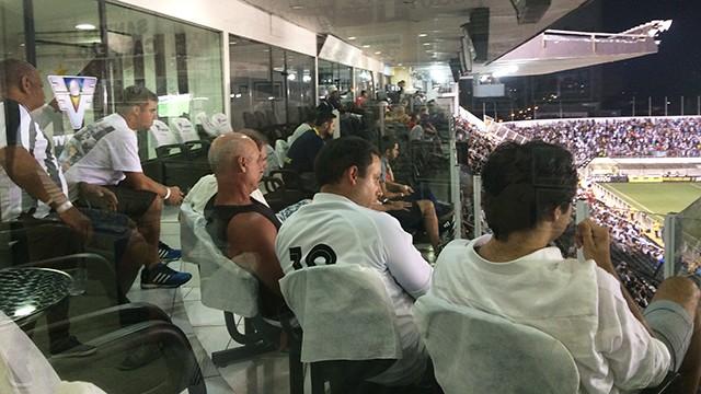 Vila se torna palco de encontro para as ações da TV Tribuna (Foto: Cristiane Sorpili )