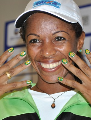Maria Zeferina Baldaia corredora São Silvestre (Foto: João Gabriel Rodrigues / GLOBOESPORTE.COM)