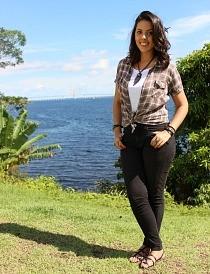 Camila Seixas é a nova apresentadora do Zappeando (Foto: Katiúscia Monteiro/ Rede Amazônica)