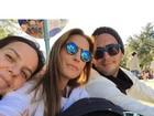 Depois de Aspen, Ivete Sangalo curte férias na Disney