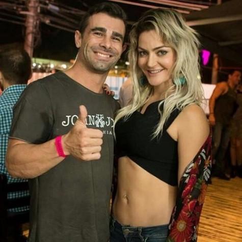 Laura Keller e Jorge Souza (Foto: Reprodução)