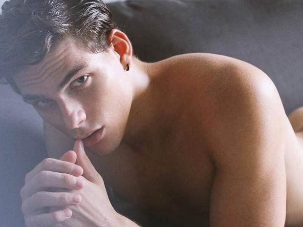 Gleiderson também já fez ensaio sensual para revista (Foto: Divulgação)