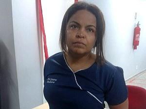 Médica Socorro Pereira nega acusações (Foto: Leandro Guedes/TV Amazonas)