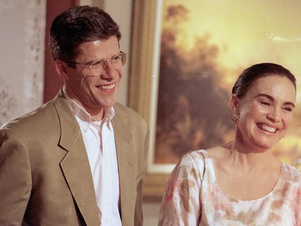 Carlos Moretti (José Mayer) e Helena (Regina Duarte)