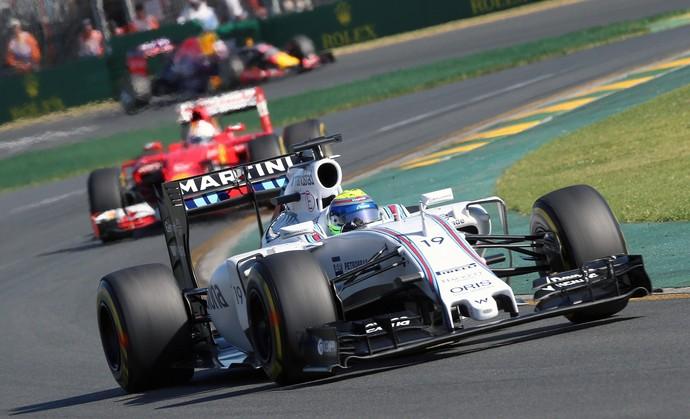 Felipe Massa Williams GP da Austrália Fórmula 1 (Foto: SRDJAN SUKI / EFE)