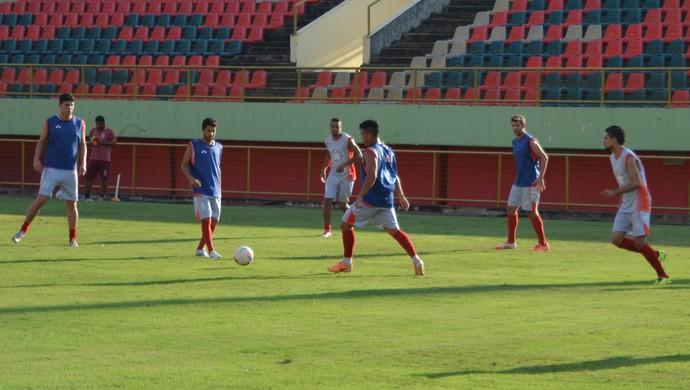 Treino Rio Branco, Arena da Floresta (Foto: Murilo Lima)