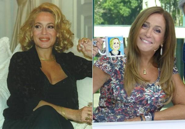 Susana Vieira como Branca (Foto: Reprodução e TV Globo)
