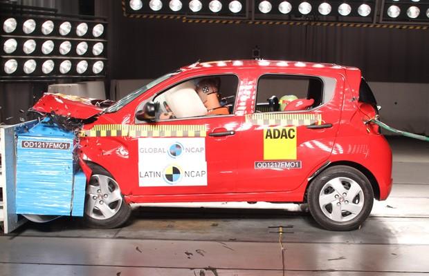Fiat Mobi conquista apenas uma estrela em teste do Latin Ncap (Foto: Divulgação)