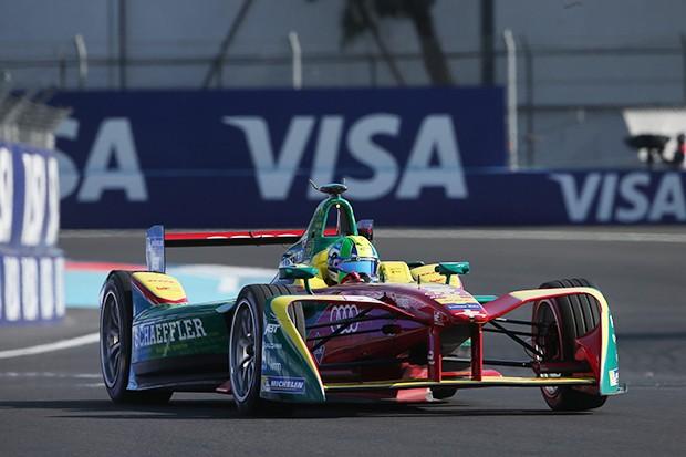 Di Grassi diminuiu significativamente a margem que o separa do líder do campeonato (Foto: Divulgação/FIA Formula E)
