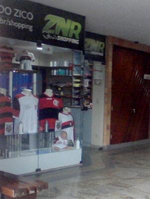 Loja, cfz,Camisa do Flamengo (Foto: Thiago Lima)