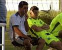 Lesionados, Rossi e Marcão devem desfalcar o Goiás contra o Sampaio