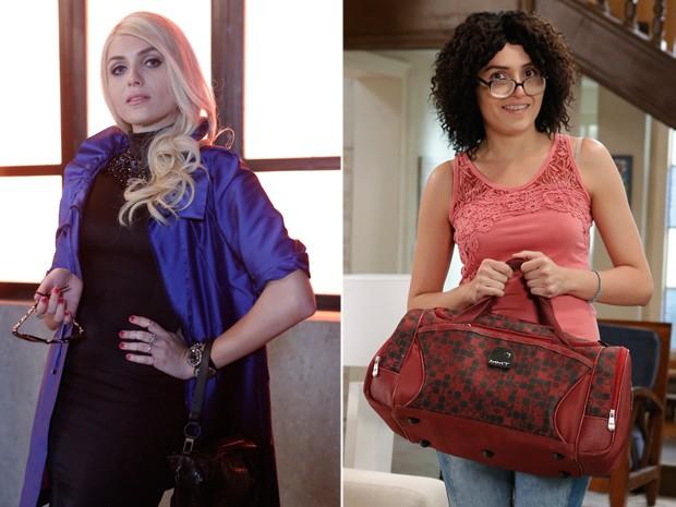 Confira o antes e depois da atriz durante a trama (Foto: Felipe Monteiro/Gshow)