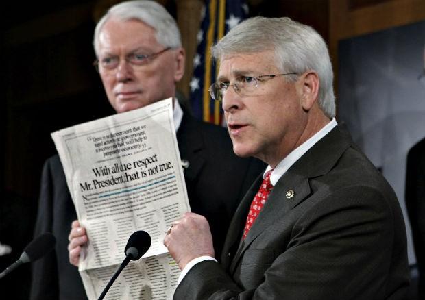 O senador americano Roger Wicker em foto de 2009 (Foto: J. Scott Applewhite/AP)
