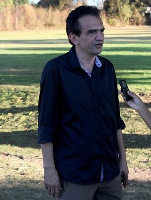 Elizeu Aguiar, presidente do River-PI (Foto: Wenner Tito)