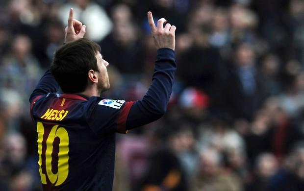 Messi gol Barcelona (Foto: AFP)