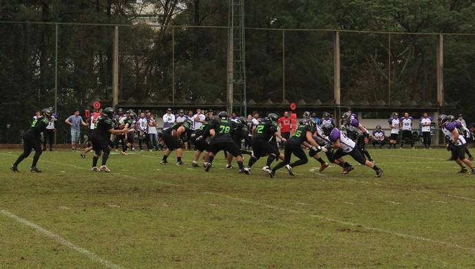 campo grande predadores x sorocaba vipers, superliga fa, futebol americano (Foto: Divulgação / Campo Grande Predadores)