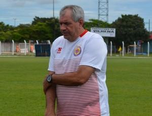 Marcos Birigui, técnico do Vilhena (Foto: Jonatas Boni)