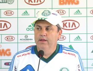 Gilson Kleina, Técnico do Palmeiras (Foto: Daniel Romeu / Globoesporte.com)