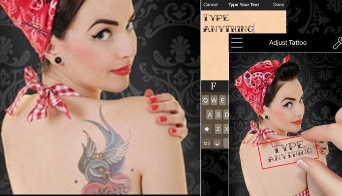 Tatto You tem versão otimizada para iPads e atualização constante (Foto: Reprodução/Felipe Demartini)
