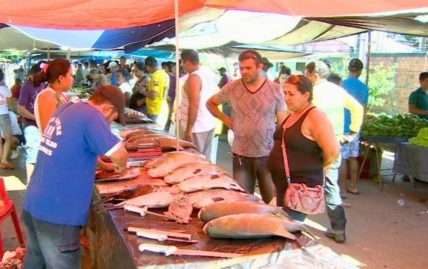 Estima-se que venda de pescado terá aumento de 30% em Porto Velho (Foto: Bom Dia Amazônia)
