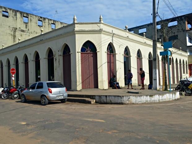 Museu de Cruzeiro do Sul também está fechado para reforma  (Foto: Jhonatas Fabrício/Rede Amazônica Acre )